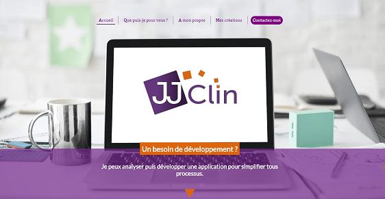 JJ Clin développeur d'applications